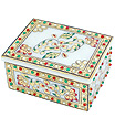 Marble Jewelry box with emboss painting