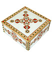 Decorative Marble box with beautiful painting work
