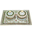 Decorative Two Boxes set kundan painting work