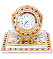 Marble Chokhi Watch with kundan and emboss painting