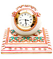 Designer clock with beautiful painting work