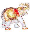 Indian elephant statues Hand carved from marble