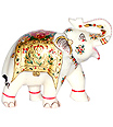 Beautiful marble elephant set for Gifting