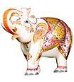 Decorative statue elephant from Spotless Marble