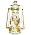 Marble Lantern With rajasthani lady painting