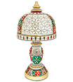 Decorative table Lamp with painting