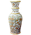 Exquisite vase from White Makrana Marble