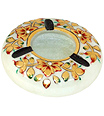 Marble Ashtray with emboss painting