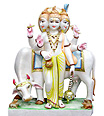 Marble Dattatreya statue supplier