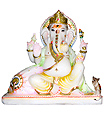 Beautiful Ganesh Murthi From Marble stone