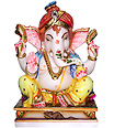 Beautiful Lord Ganesha Spotless White Marble