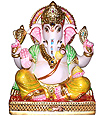 Classic Ganesha Statue made of Marble stone