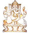 Lord Ganesh Statue from  Marble
