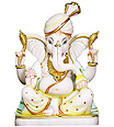 Exclusively Designed Marble Ganesh Statue