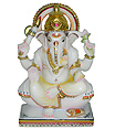 Marble Sculptures of lord Ganesh