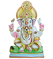 Marble Sculptures of lord Ganesha in marble