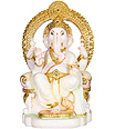 Marble God Statues of Lord Ganesha