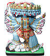 Marble kali Statue carved from Marble
