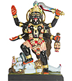 Marble kali devi Statue carved from Marble