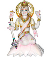 Laxmi ji Goddess Statue from Marble