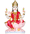 Marble Idol of Goddess Laxmiji