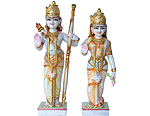 Beautiful pair of Ram and Sita statue