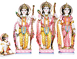 Marble Ram Darbar God Statue from Marble