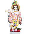 Marble krishna idol for temple