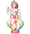 Beautiful Krishna Murthi From Marble stone