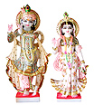 Exquisite Radha Krishna from makrana marble