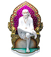 Sai Baba statue from White Marble