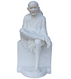 Marble Sai Baba Statues carved in marble