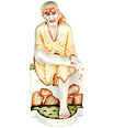 Lord Sai Baba Statue from Marble Stone
