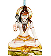 A Beautiful Shiva statue from White Marble