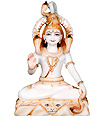 Marble lord shankar Statue from Marble