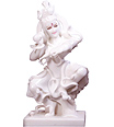 Marble Natraj Statue from white marble