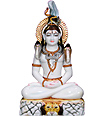 Marble shiva Statue for temple