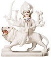 Marble Goddess Durga Murties for temple