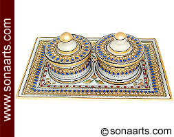 Marble Gift box set from Indian Handicrafts