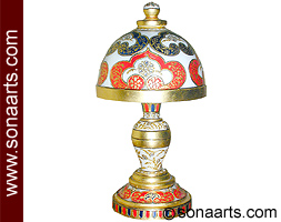 Marble Table Lamp with beautiful Painting