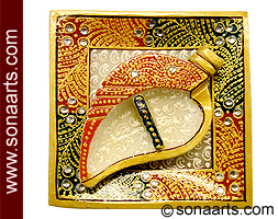 Marble Roli Chawal Set From Indian Handicrafts Mpuj235