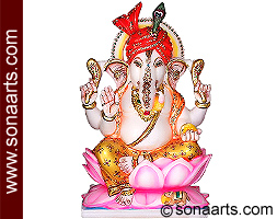 Masterpiece of Lord Ganesha from Marble