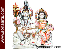Beautiful Family of Lord Shiva Family