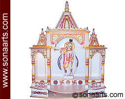 Hindu Mandir Design In Marble